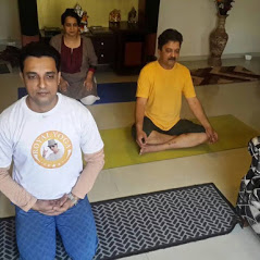 personal yoga trainer at home in bandra