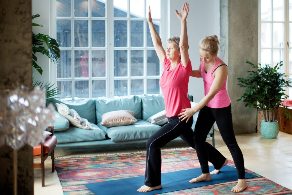power yoga trainer at home