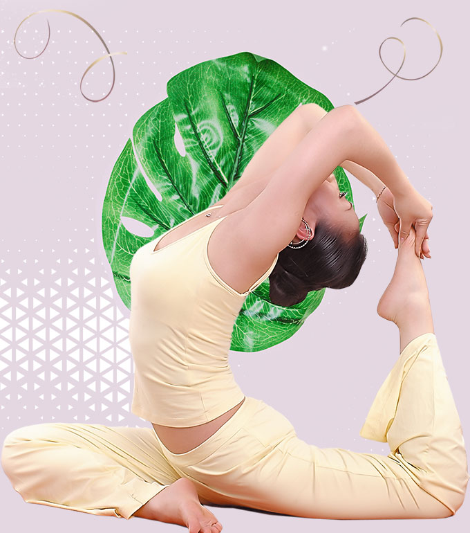 online yoga class in france