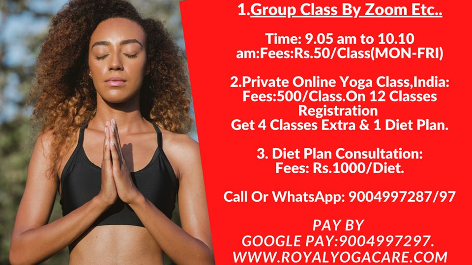 online yoga class in bangalore