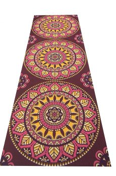 beautiful printed yoga mat
