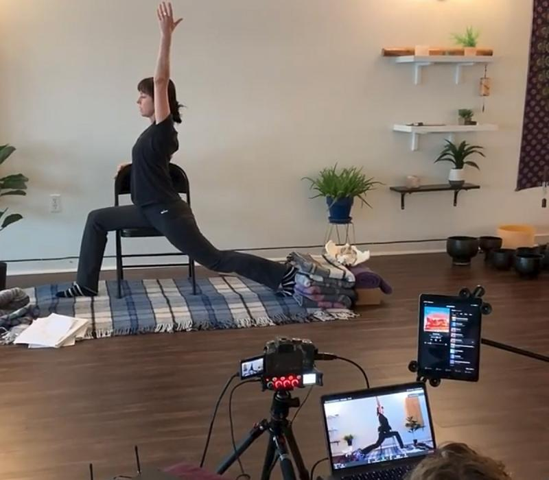 ONLINE CORPORATE YOGA WEBINAR