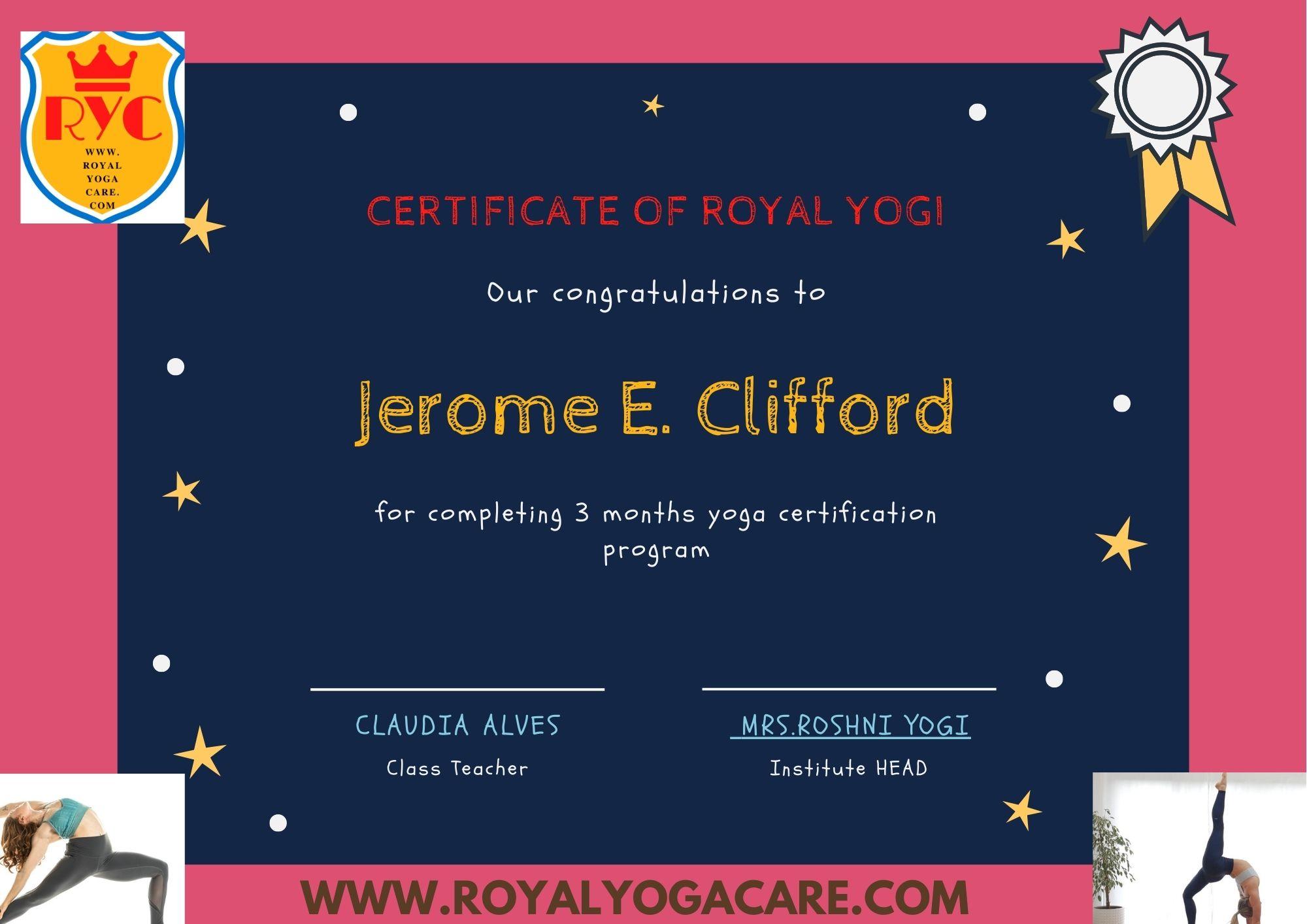 online yoga teacher training certificates